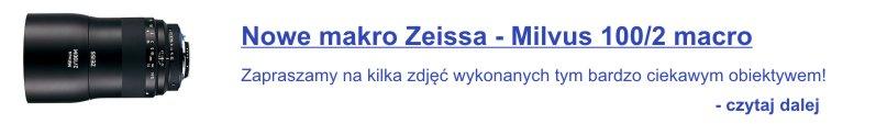 Zeiss Milvus 100 - reklama