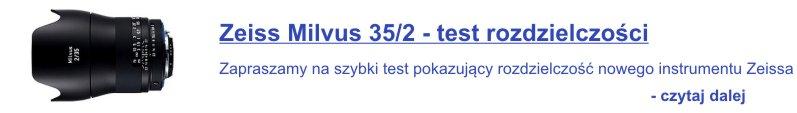 Zeiss Milvus 35 - reklama