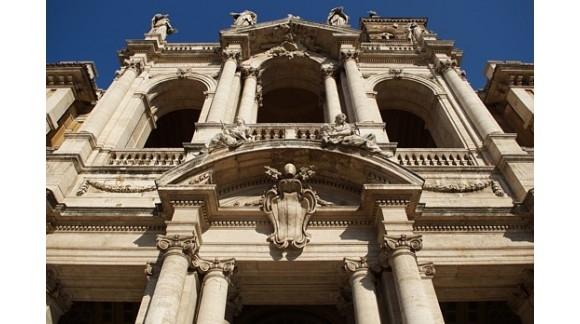 Bazylika Santa Maria Maggiore w rybim oku