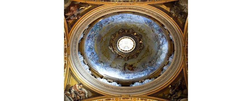 Watykan światłem malowany