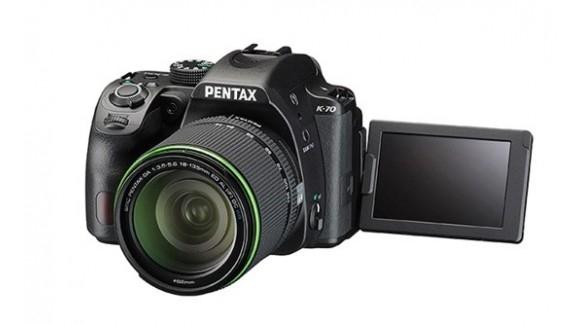 Pentax K-70 - nowa lustrzanka