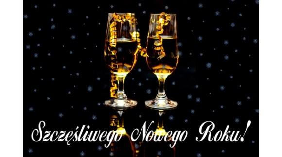 Szczęścia w Nowym Roku!