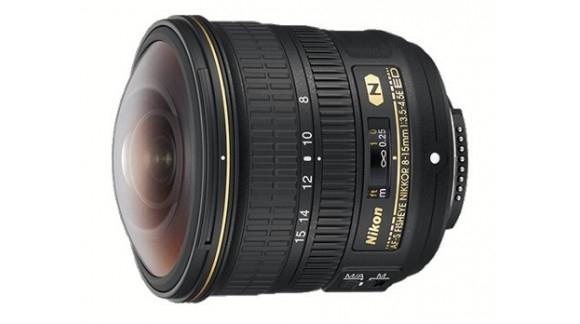 Rybie oko 8-15mm od Nikona!