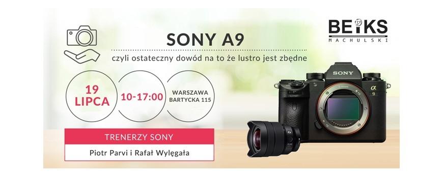 Sony A9 - czy lustro jest zbędne?