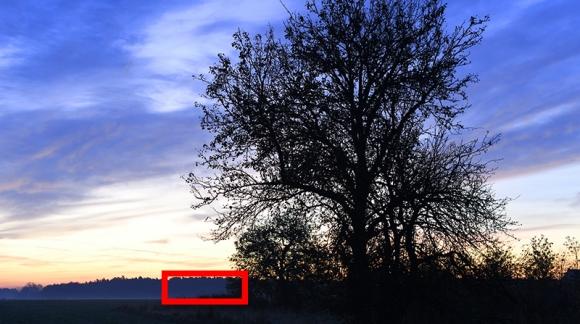 Nikon D850 - test iso w cieniach