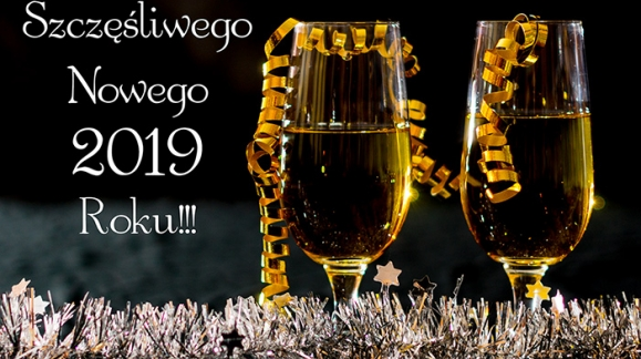 Niech żyje nowy 2019 Rok!