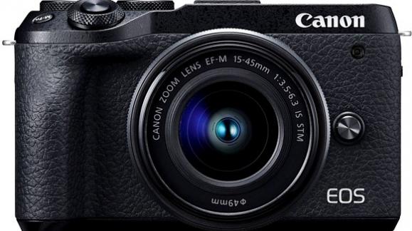 Nowy, mały bezlusterkowiec Canon M6 II