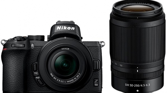 Z50 - pierwszy bezlusterkowiec Nikona z matrycą DX