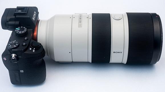 Sony E 70-200/2.8 GM - test bokeh