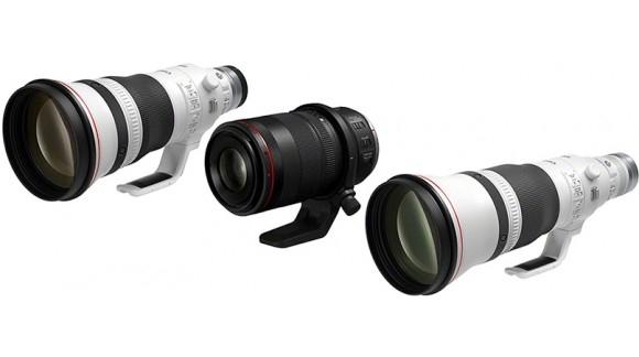 3 nowe obiektywy Canon RF