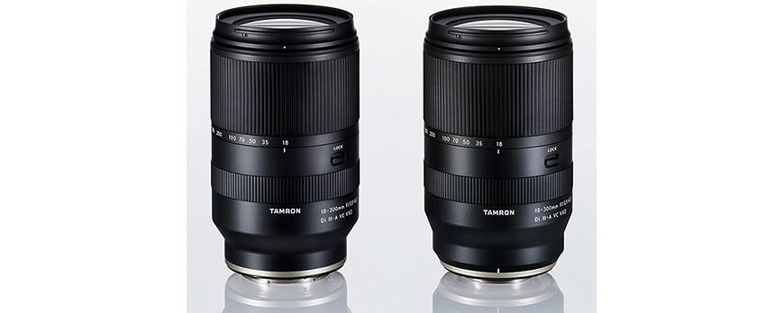 TAMRON 18-300 dla Sony E oraz Fujifilm X
